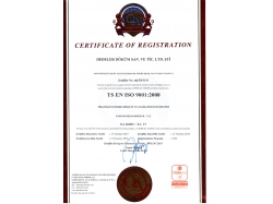 İSO Certificate